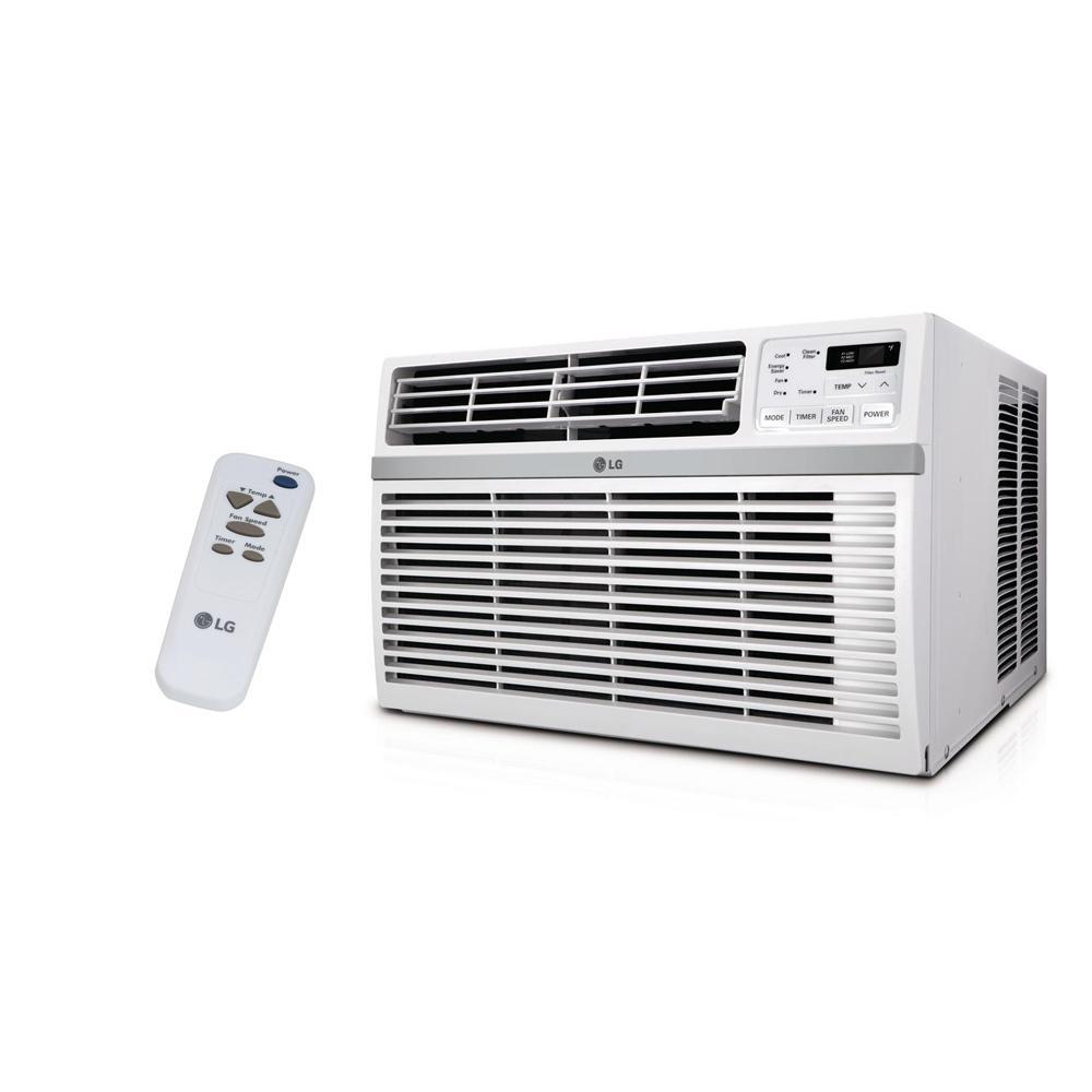 Magnificent Lg Electronics 8 000 Btu 115 Volt Window Air Conditioner With Remote Wiring Cloud Filiciilluminateatxorg