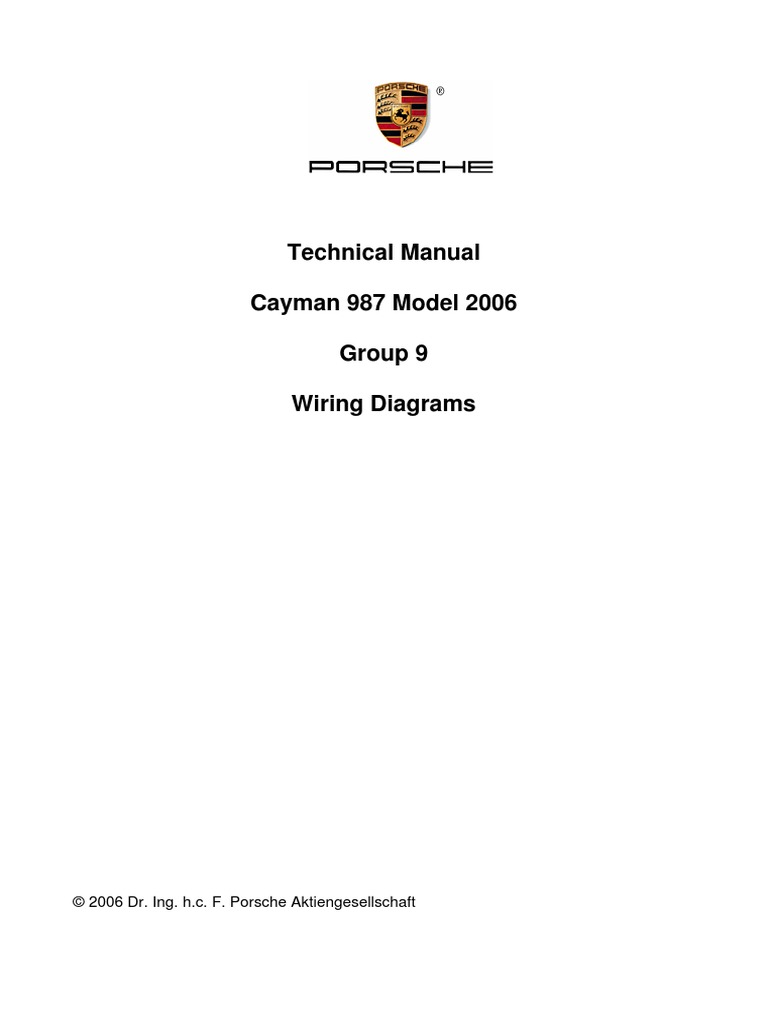 Fine Wiring Diagram For 2006 Porsche Cayman Wiring Diagram Wiring Cloud Genionhyedimohammedshrineorg