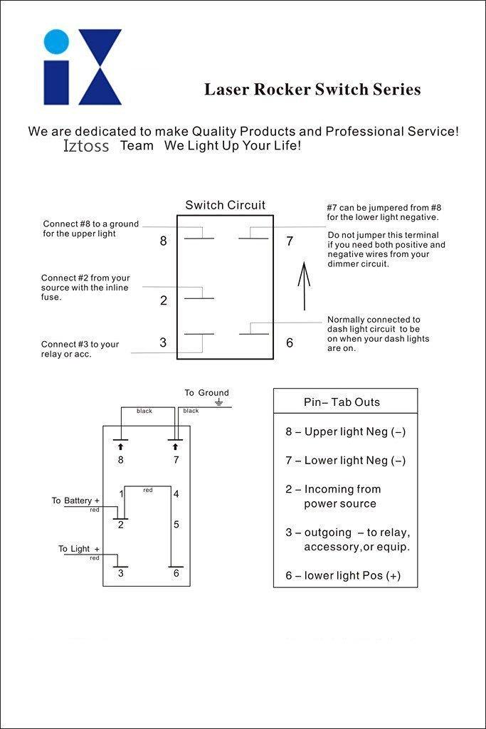 Sx 4798 Illuminated Rocker Switch Wiring Wiringjpg Wiring Diagram