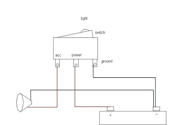 120v Illuminated Rocker Switch Wiring Diagram - Wiring Diagram