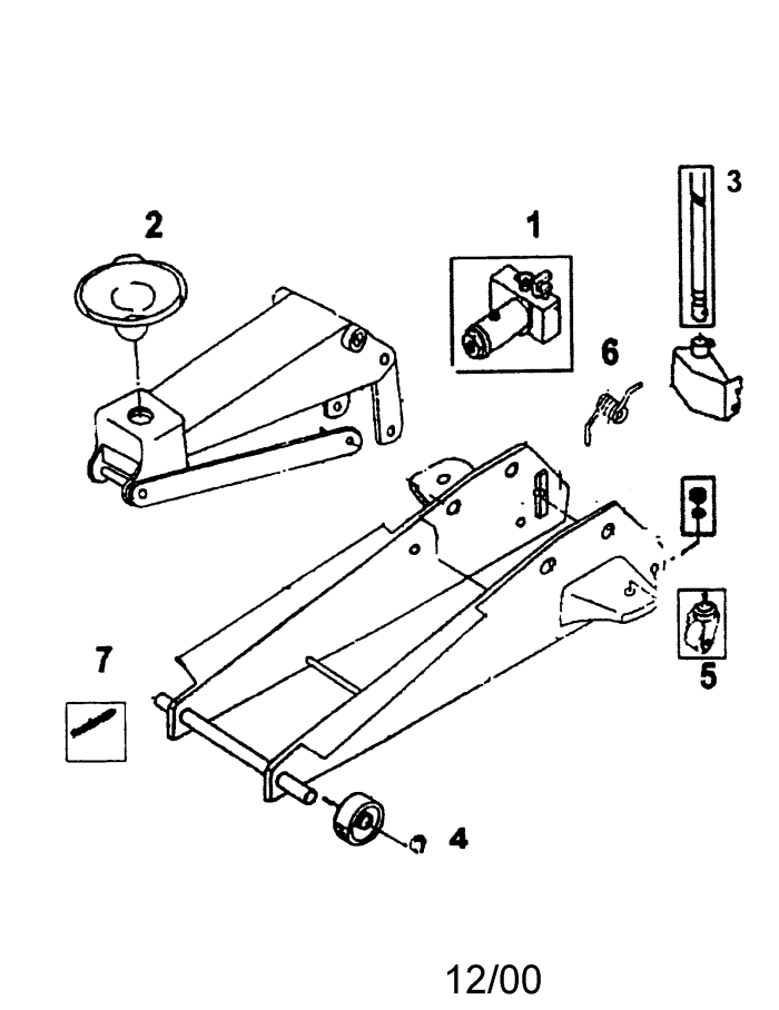 Hydraulic Bottle Jack Schematic Manual Guide