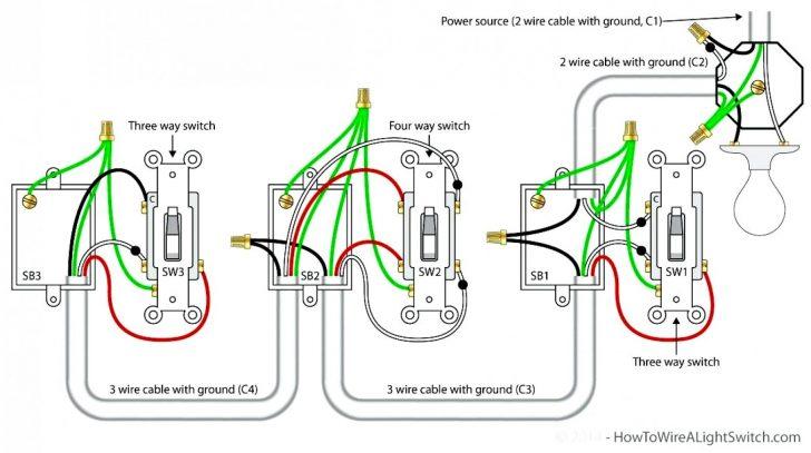 Ke 6473 How To Wire A 4way Light Switch Wiring Diagram Ehow Uk