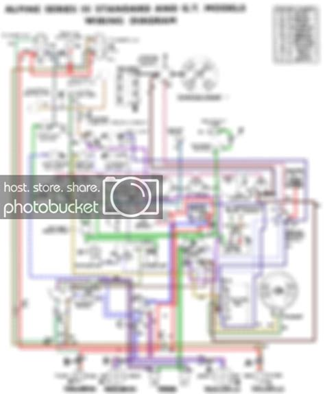 Sunbeam Alpine Series 5 Wiring Diagram