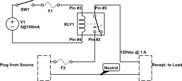 ra6694 5 pin relay symbol download diagram