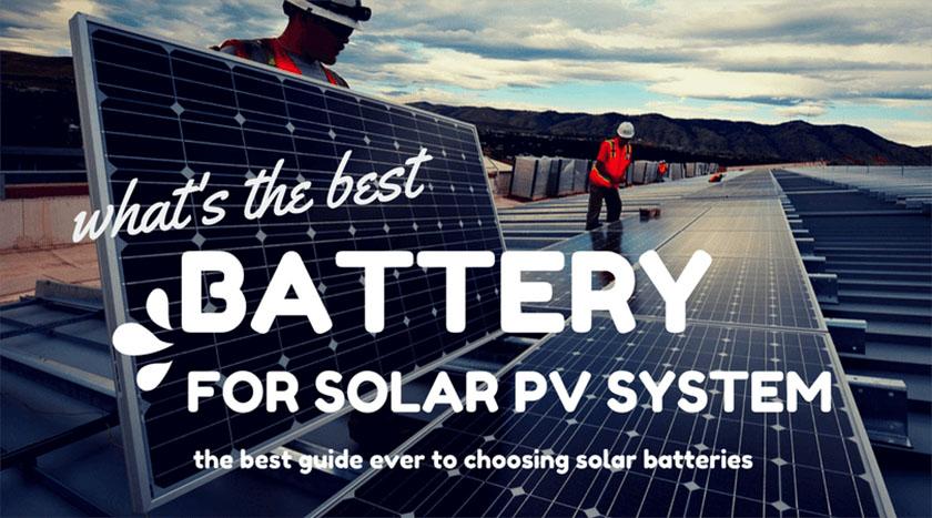 Fabulous Best Solar Batteries For Solar Storage In 2019 Ultimate Guide Wiring Cloud Hemtshollocom