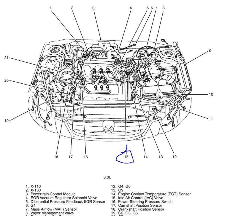 Mazda Protege5 Headlight Wiring Diagram