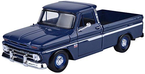 Chevrolet Chevy C10 Fleetside Pickup 1966 Grün Abschlepper 1//24 Motormax Model..