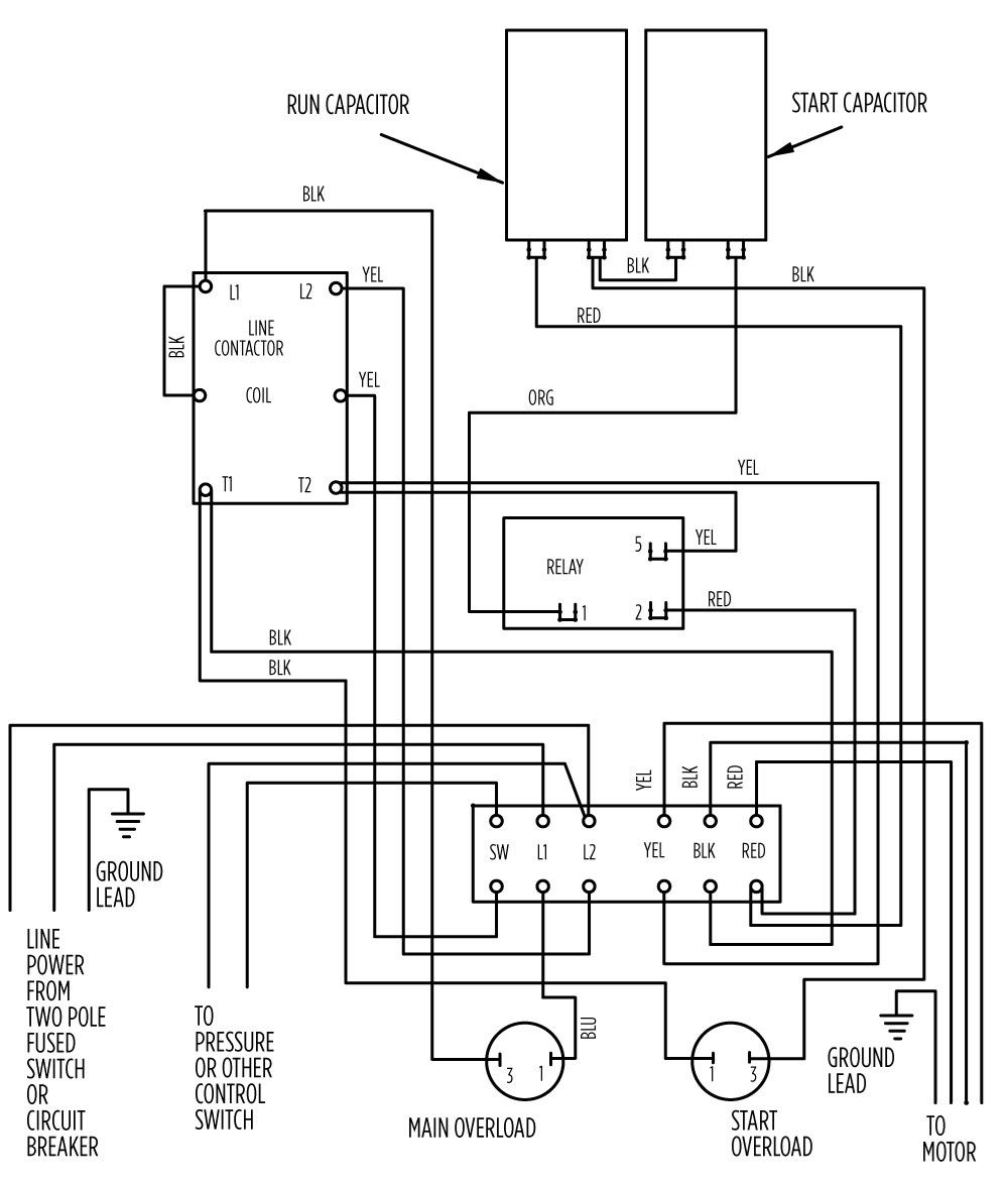 Stupendous Aim Manual Page 55 Single Phase Motors And Controls Motor Wiring Cloud Rdonaheevemohammedshrineorg