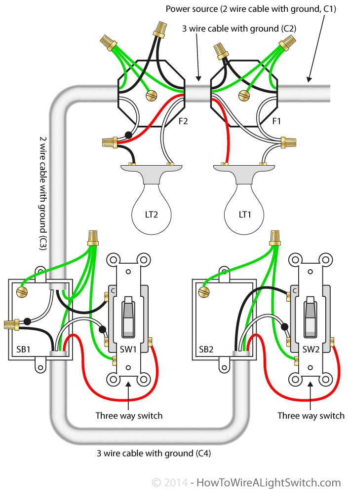 Superb 2 Lights How To Wire A Light Switch Wiring Cloud Cranvenetmohammedshrineorg