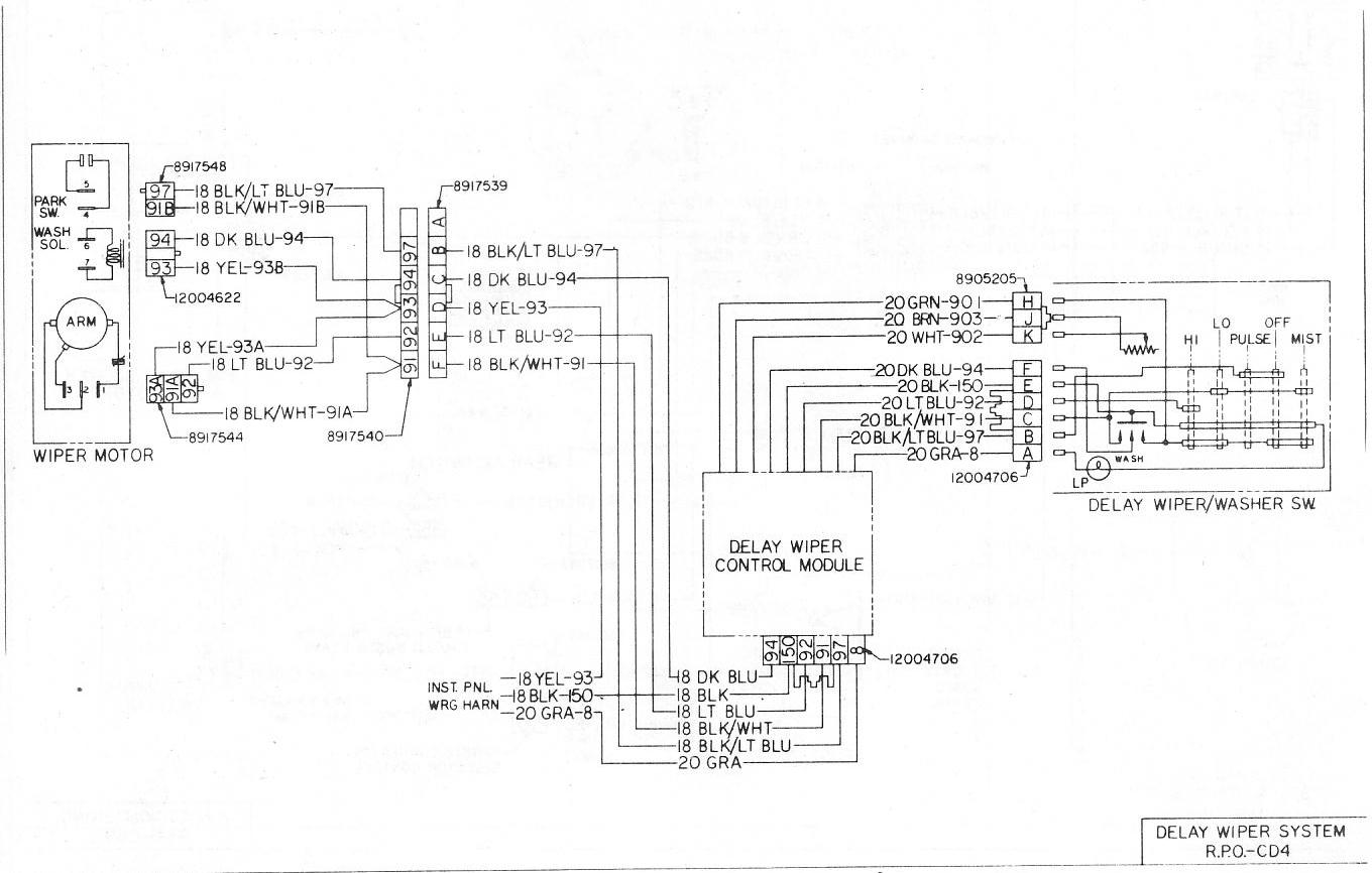 1980 Chevy Wiper Motor Wiring - wiring diagram suit-consist -  suit-consist.vaiatempo.it | Turn Signal Switch Wiring Diagram For 1990 Dodge Truck With Wiper Delay |  | vaiatempo.it