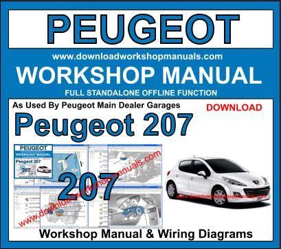 PEUGEOT 508 Workshop Service /& Repair Manual