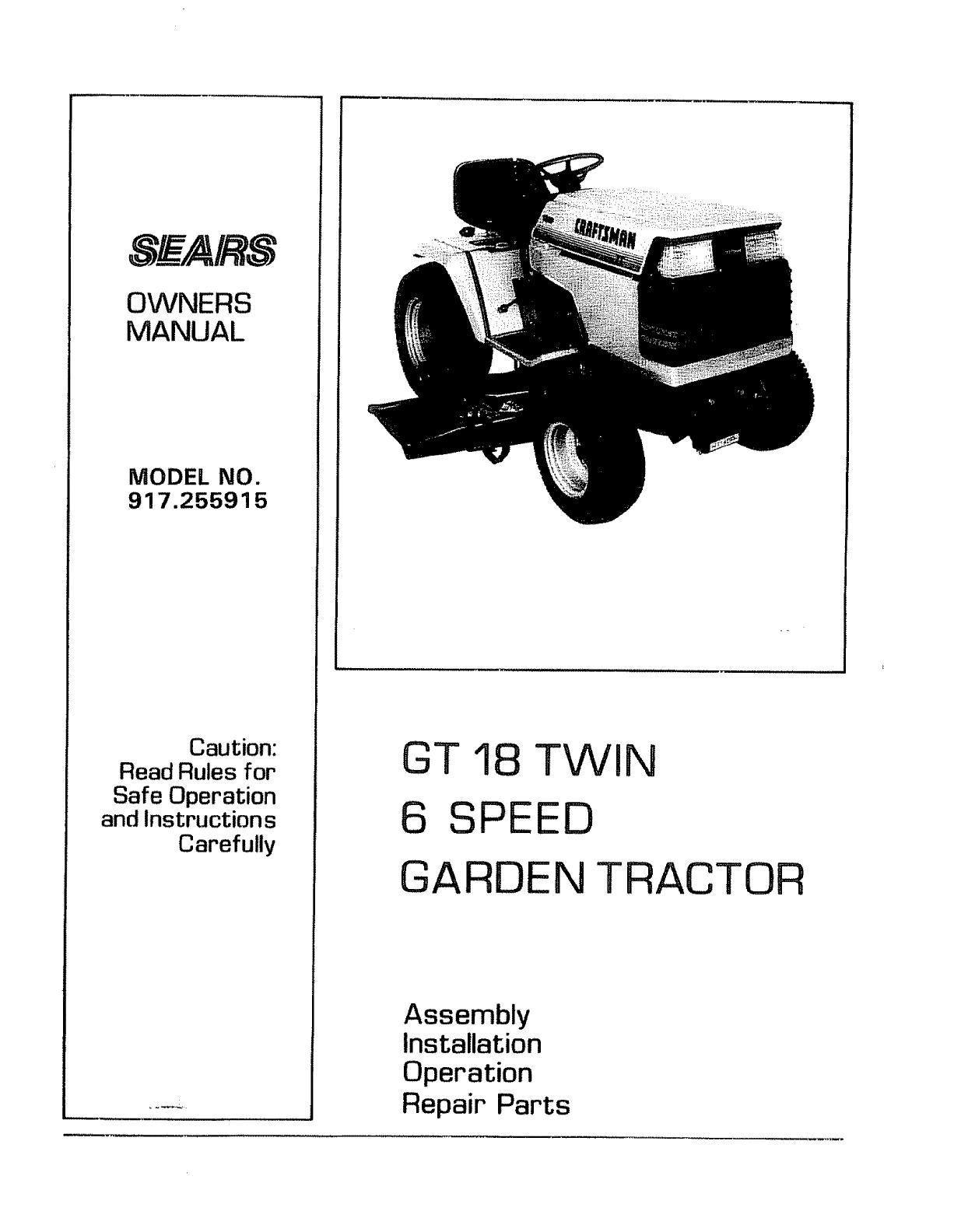 [DIAGRAM_0HG]  HY_4267] Craftsman Garden Tractor Wiring Diagram Download Diagram | Wiring Diagram Sears Gt18 |  | Anth Over Jebrp Mohammedshrine Librar Wiring 101