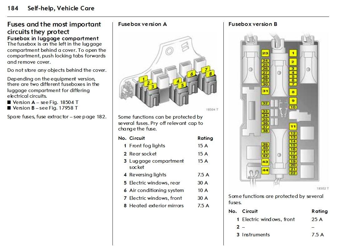 vauxhall corsa c fuse box layout ze 0352  opel meriva fuse box layout  ze 0352  opel meriva fuse box layout