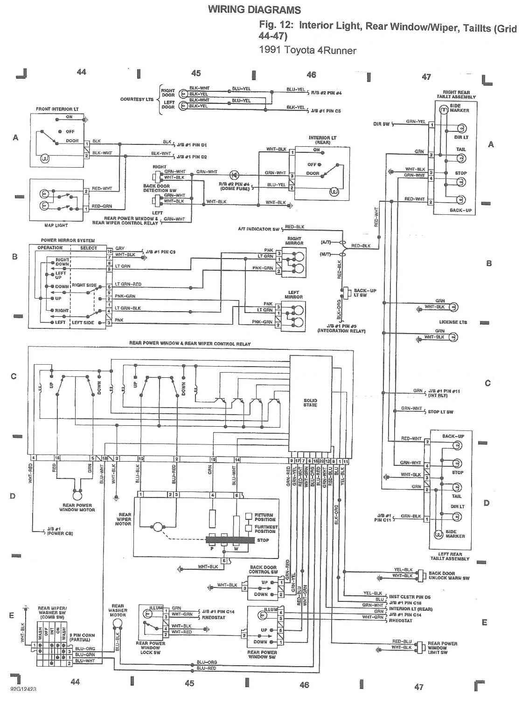Pleasant Toyota 4Runner Trailer Wiring Adaptor Wiring Diagram Wiring Cloud Orsalboapumohammedshrineorg