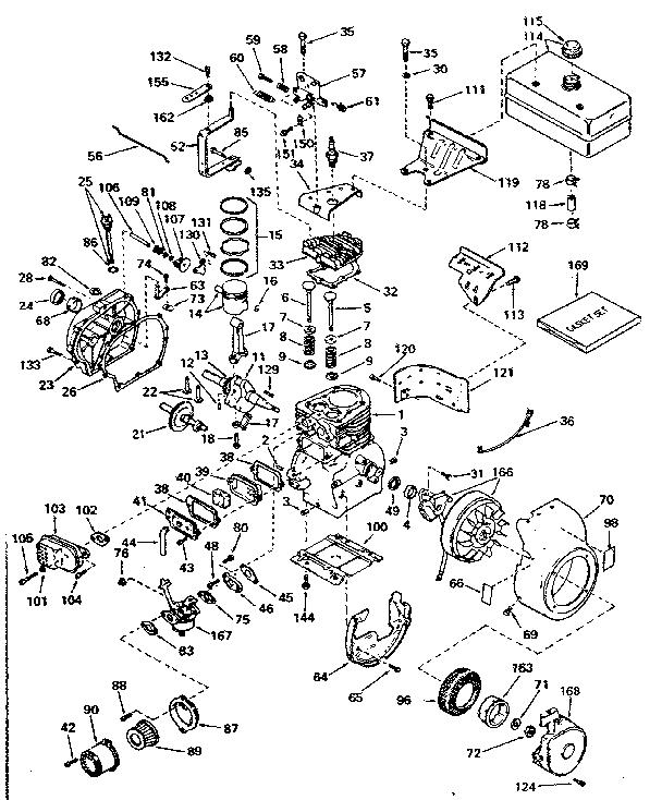 Marvelous Tecumseh Model H50 65417L Engine Genuine Parts Wiring Cloud Loplapiotaidewilluminateatxorg