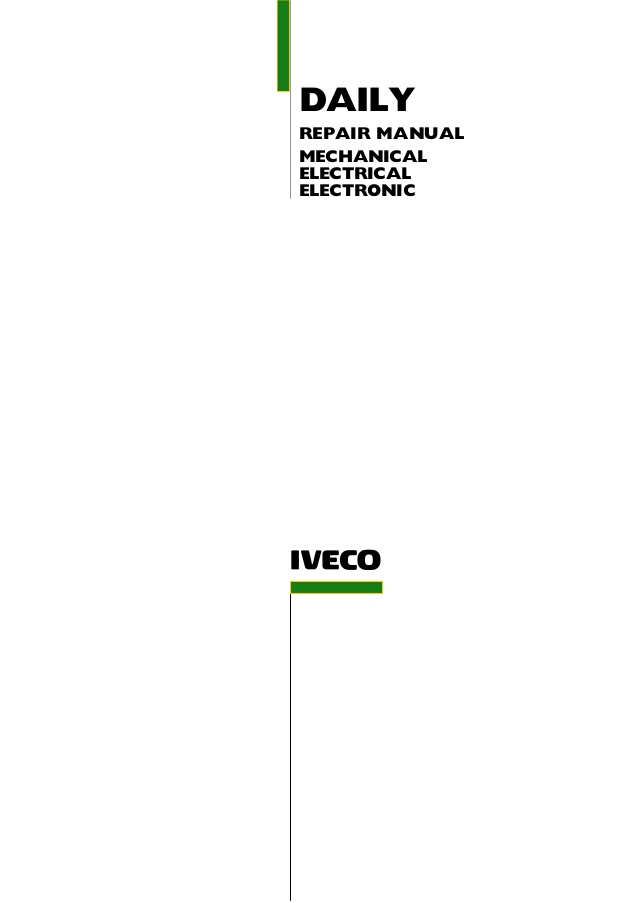 Magnificent 2006 Iveco Daily 3 Service Repair Manual Wiring Cloud Gufailluminateatxorg