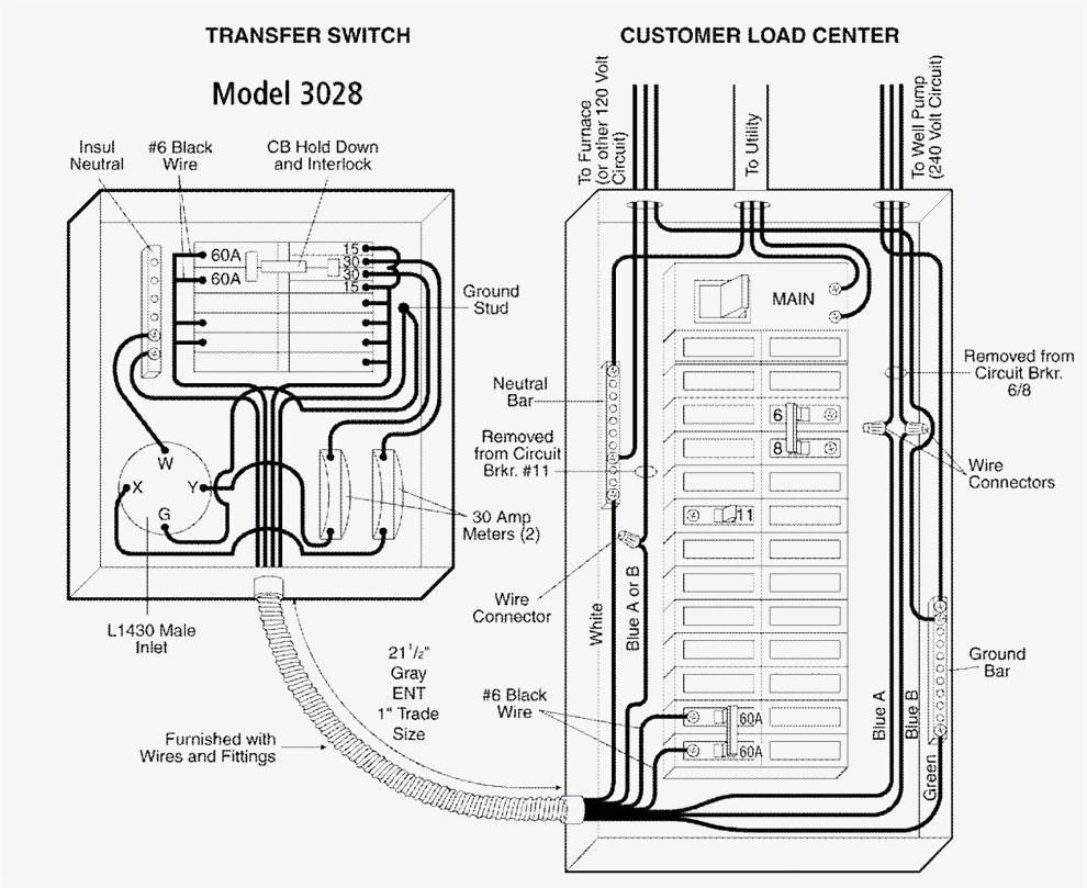 Sd 6268 Generac Automatic Transfer Switches Wiring Wiring Diagram