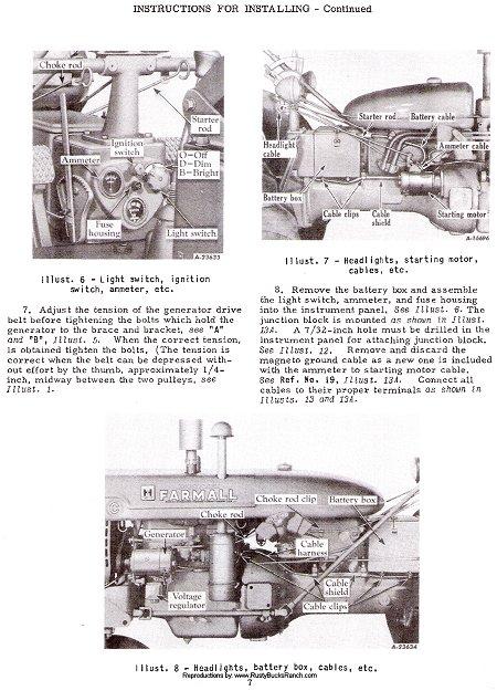 1953 Farmall Cub Wiring Diagram - Wiring Diagram