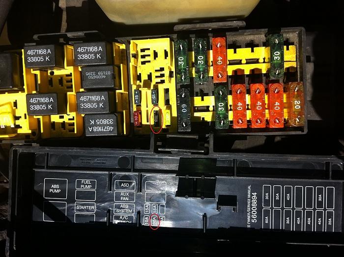 Fabulous 96 Jeep Cherokee Fuse Box Basic Electronics Wiring Diagram Wiring Cloud Gufailluminateatxorg