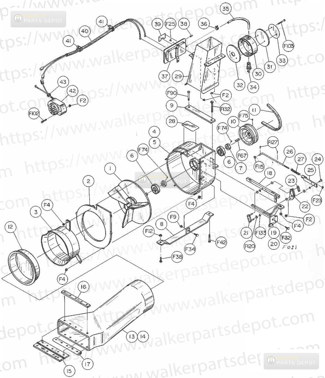walker mower wiring schematics yn 0587  walker mower wiring harness free diagram  walker mower wiring harness free diagram