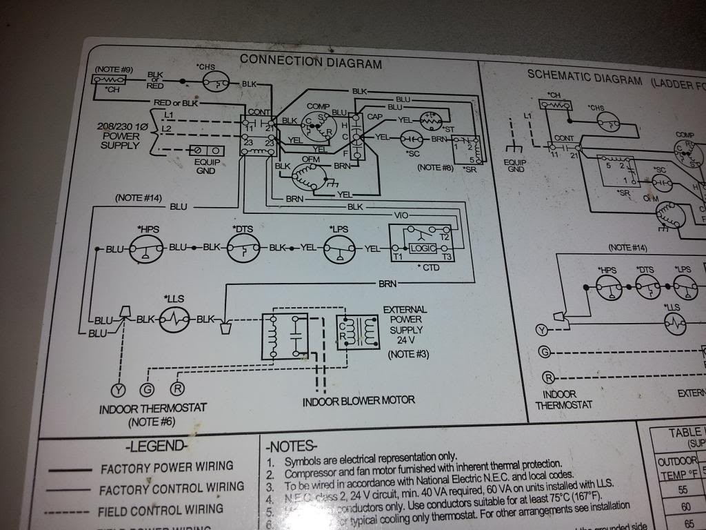 Payne Heat Pump Wiring Diagram 8 Wire - Database