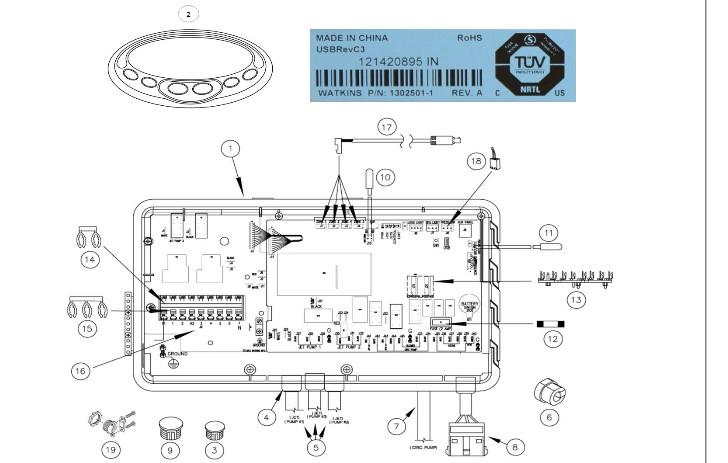 artesian spa wiring schematic - best wiring diagrams  109.172.ke.shurrik.de