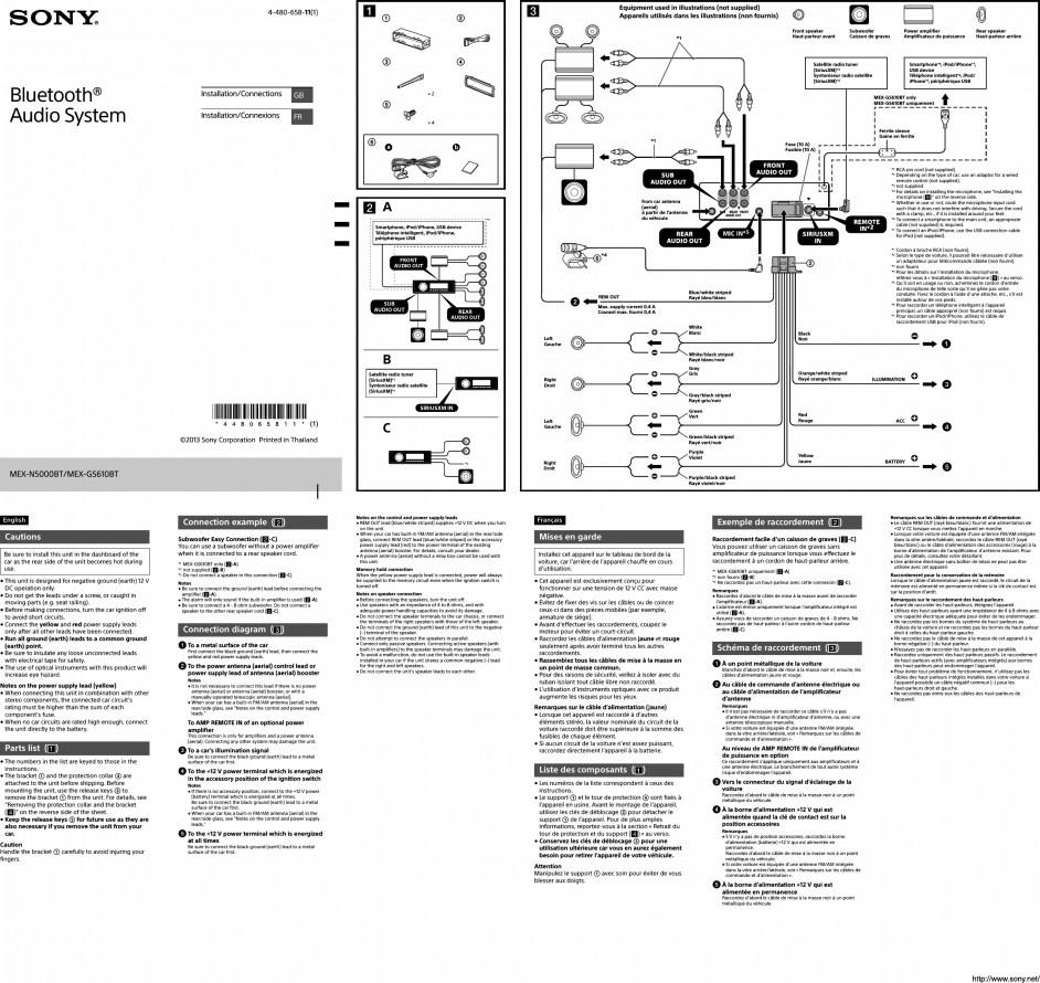 Peachy Sony Mex Dv2200 Wiring Diagram N5000Bt Diagrams Wiring Cloud Filiciilluminateatxorg