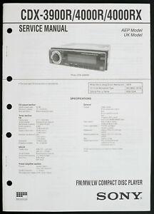 Tb 4746 Sony Cdx L300 Wiring Diagram