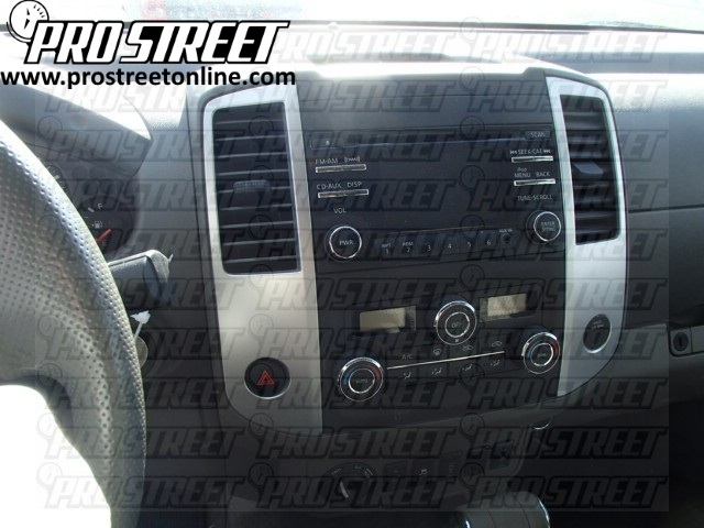 Pleasing How To Nissan Frontier Stereo Wiring Diagram My Pro Street Wiring Cloud Waroletkolfr09Org