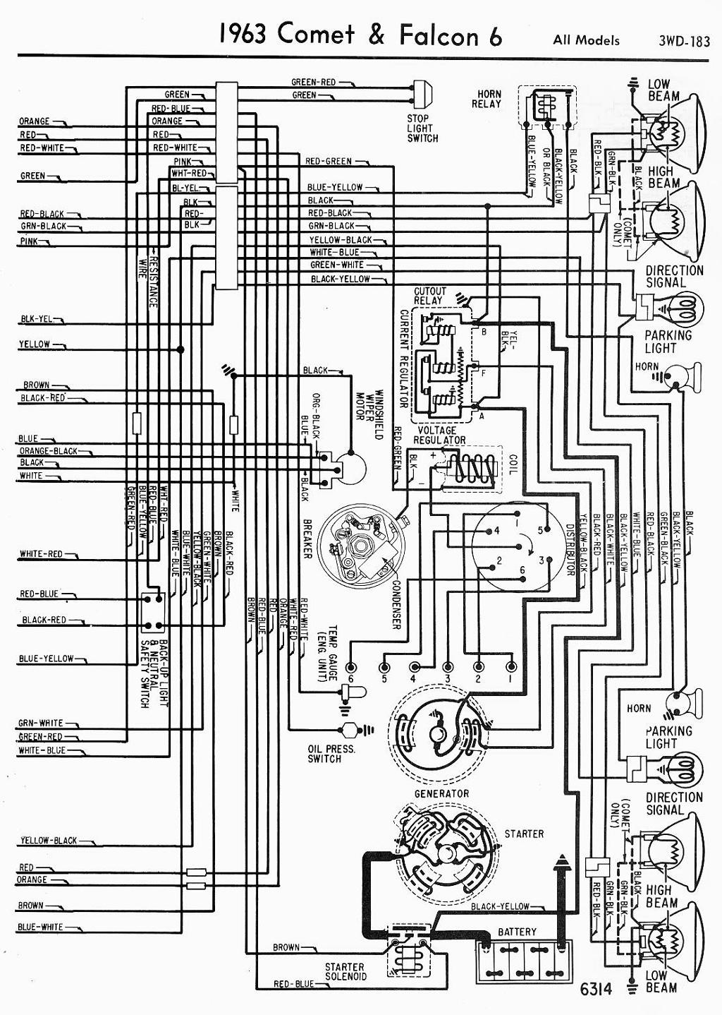 1963 Ford Fairlane Wiring Diagram - Diagram Design Sources electrical-solid  - electrical-solid.nius-icbosa.itnius-icbosa.it
