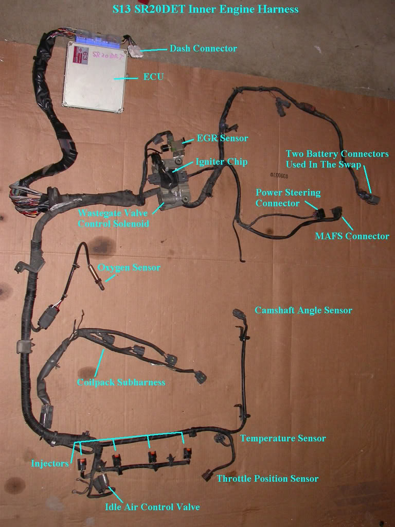 Incredible Wiring An S13 Sr20Det Up For An S14 95 98 Forever Simone Wiring Cloud Hemtegremohammedshrineorg