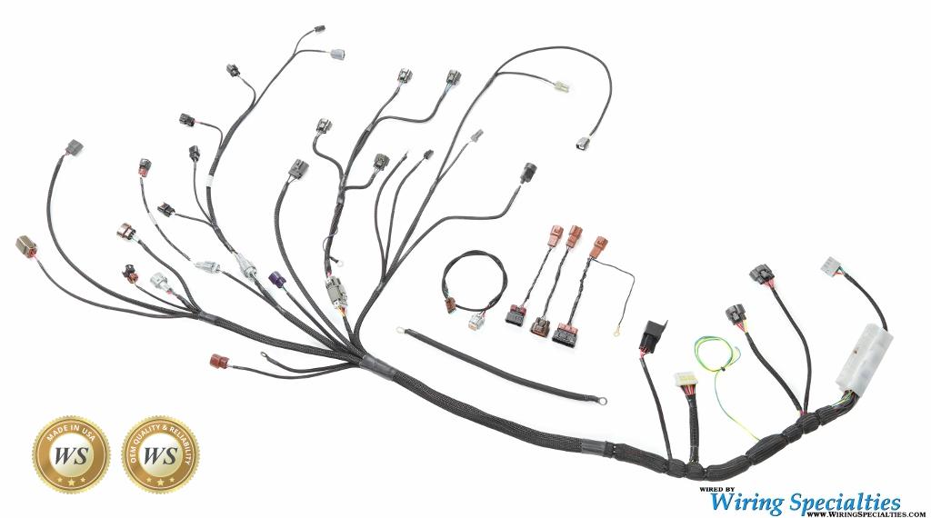 Awe Inspiring Wiring Specialties S14 Sr20Det Wiring Harness For S14 240Sx Pro Series Wiring Cloud Gufailluminateatxorg