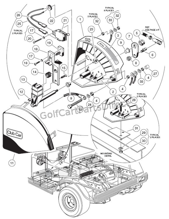36 volt club car v glide wiring diagram ac 7705  36v club car v glide wiring diagram free diagram  36v club car v glide wiring diagram