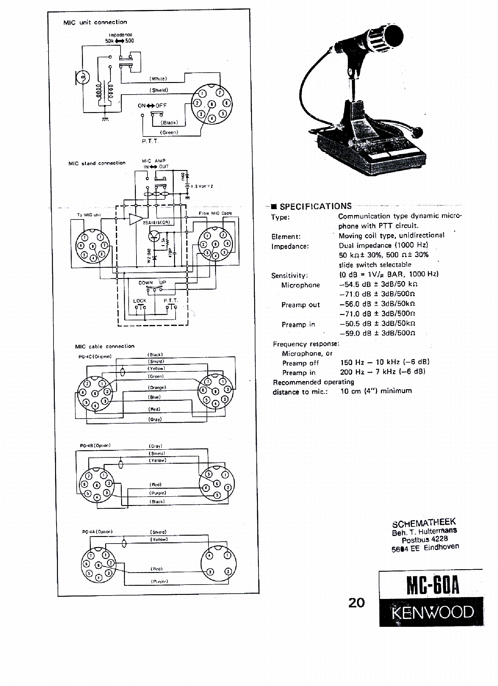[SCHEMATICS_48IS]  OY_5635] Kenwood Mc 60 Microphone Wiring Diagram Mc55 Modifications Schematic  Wiring | Kenwood Mc 50 Wiring Diagram |  | Acion Inoma Ultr Xeira Mohammedshrine Librar Wiring 101