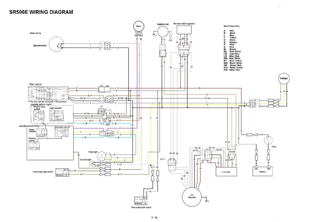 ME_1589] This Yamaha Sr500 Wiring Diagram Show Us Connection Wires Between Schematic  WiringArivo Aidew Illuminateatx Librar Wiring 101