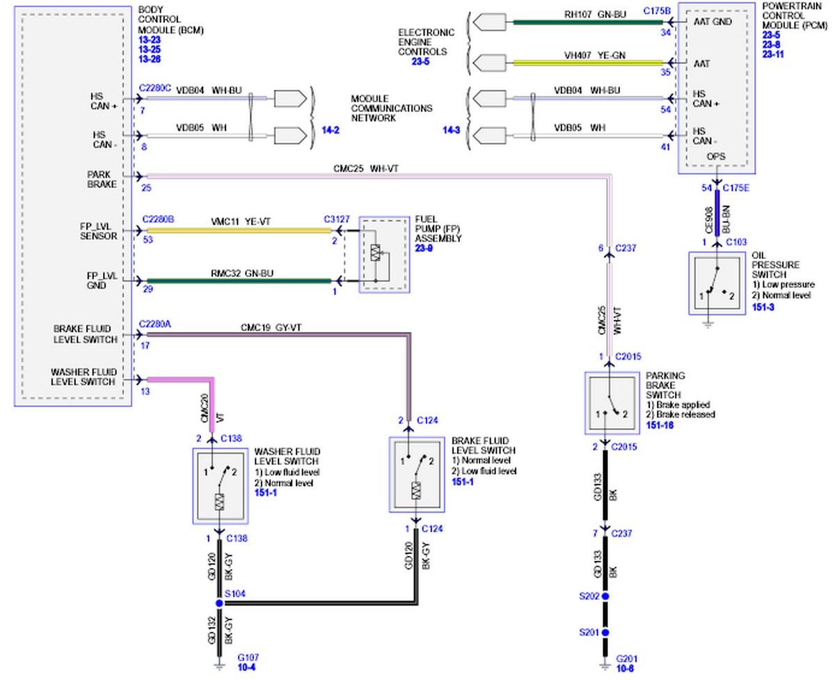 2000 Ford Focus Headlight Wiring Diagram