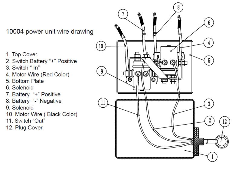 Wiring Diagram For 12 Volt Winch Solenoid