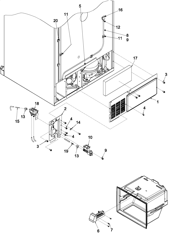 refrigerator wiring diagram compressor hr 4676  kenmore refrigerator wiring diagram on wiring diagram arb refrigerator compressor starter wiring diagram kenmore refrigerator wiring diagram on
