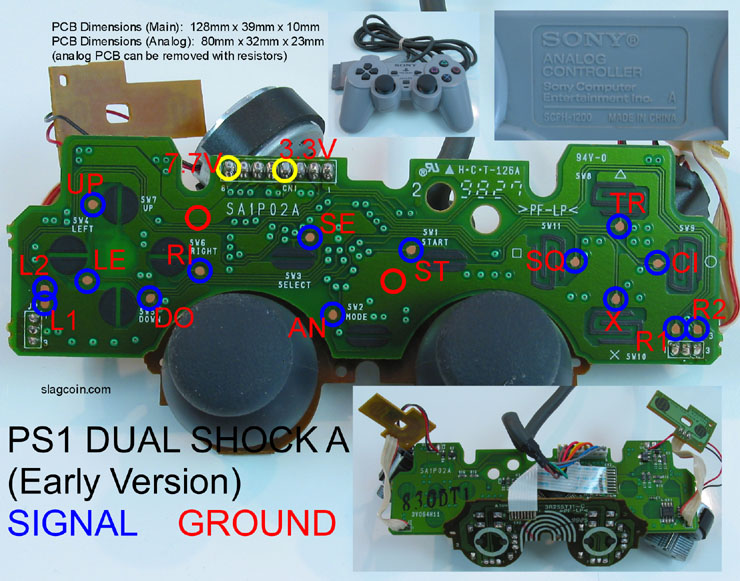 Remarkable Joystick Controller Pcb And Wiring Wiring Cloud Genionhyedimohammedshrineorg