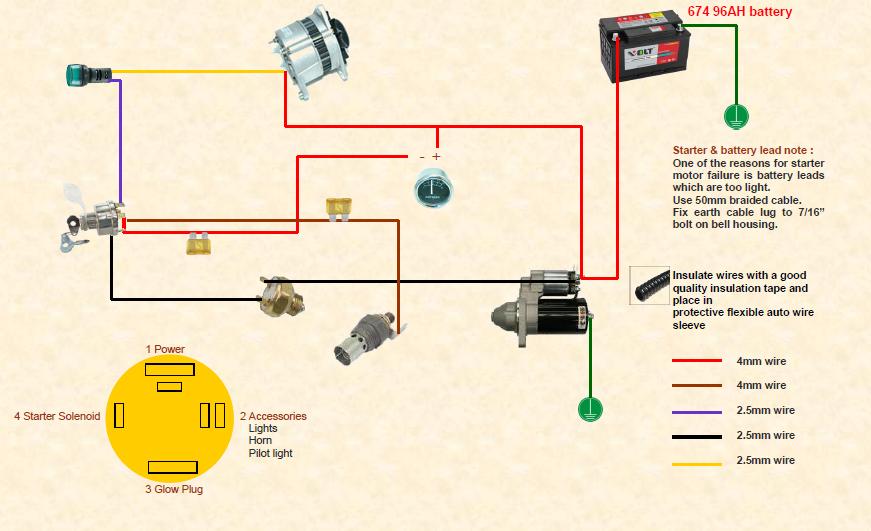 Mey Ferguson 165 Wiring Diagram