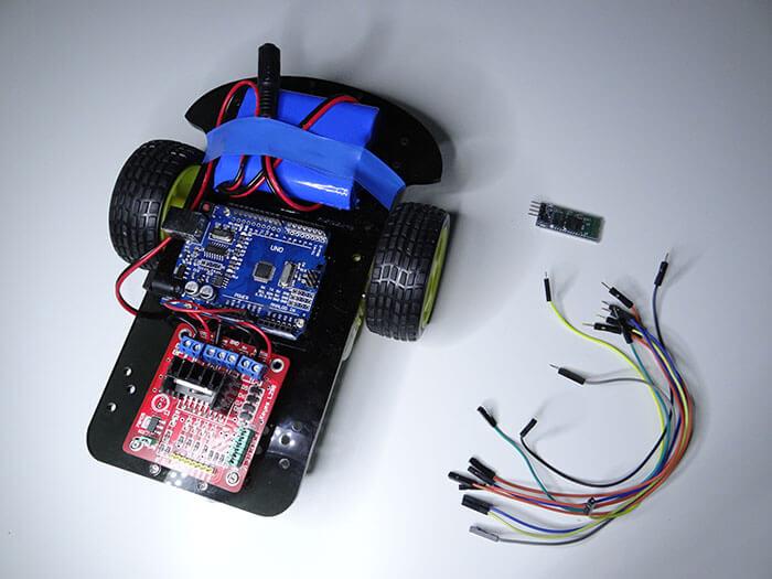 Terrific Arduino Bluetooth Rc Car Project Tutorial45 Wiring Cloud Licukshollocom