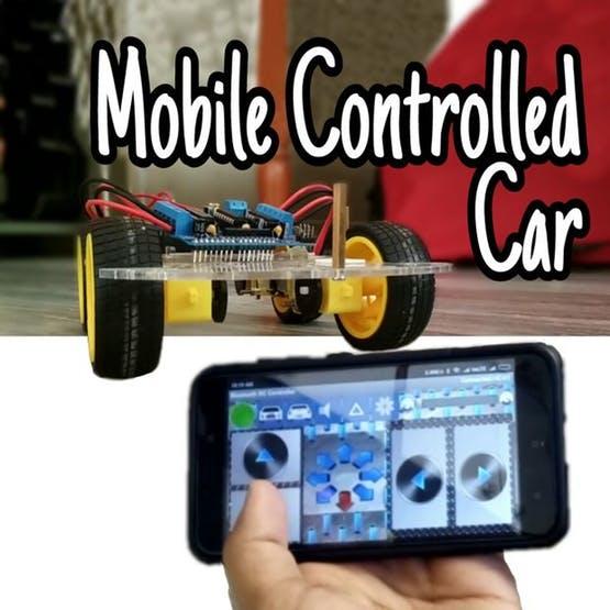 Fantastic Mobile Controlled Bluetooth Car Easy Simple Hc 05 Hackster Io Wiring Cloud Licukshollocom