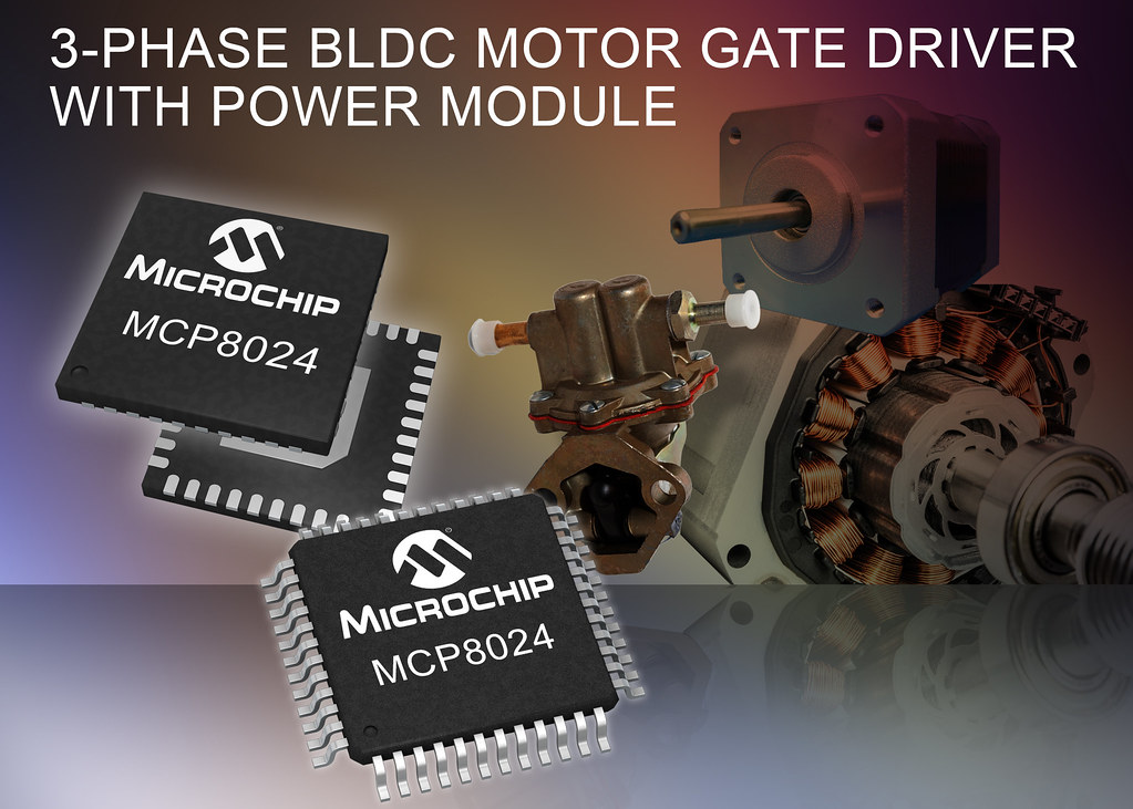 Sensational Microchips New Three Phase Bldc Motor Gate Driver With Po Flickr Wiring Cloud Filiciilluminateatxorg