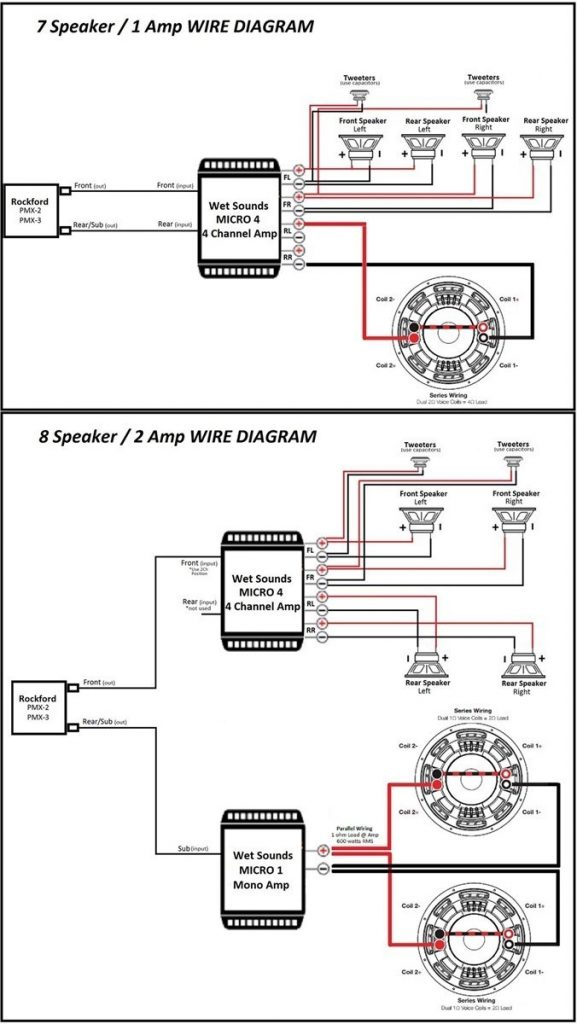 Rockford Fosgate Amplifier Wiring Diagram