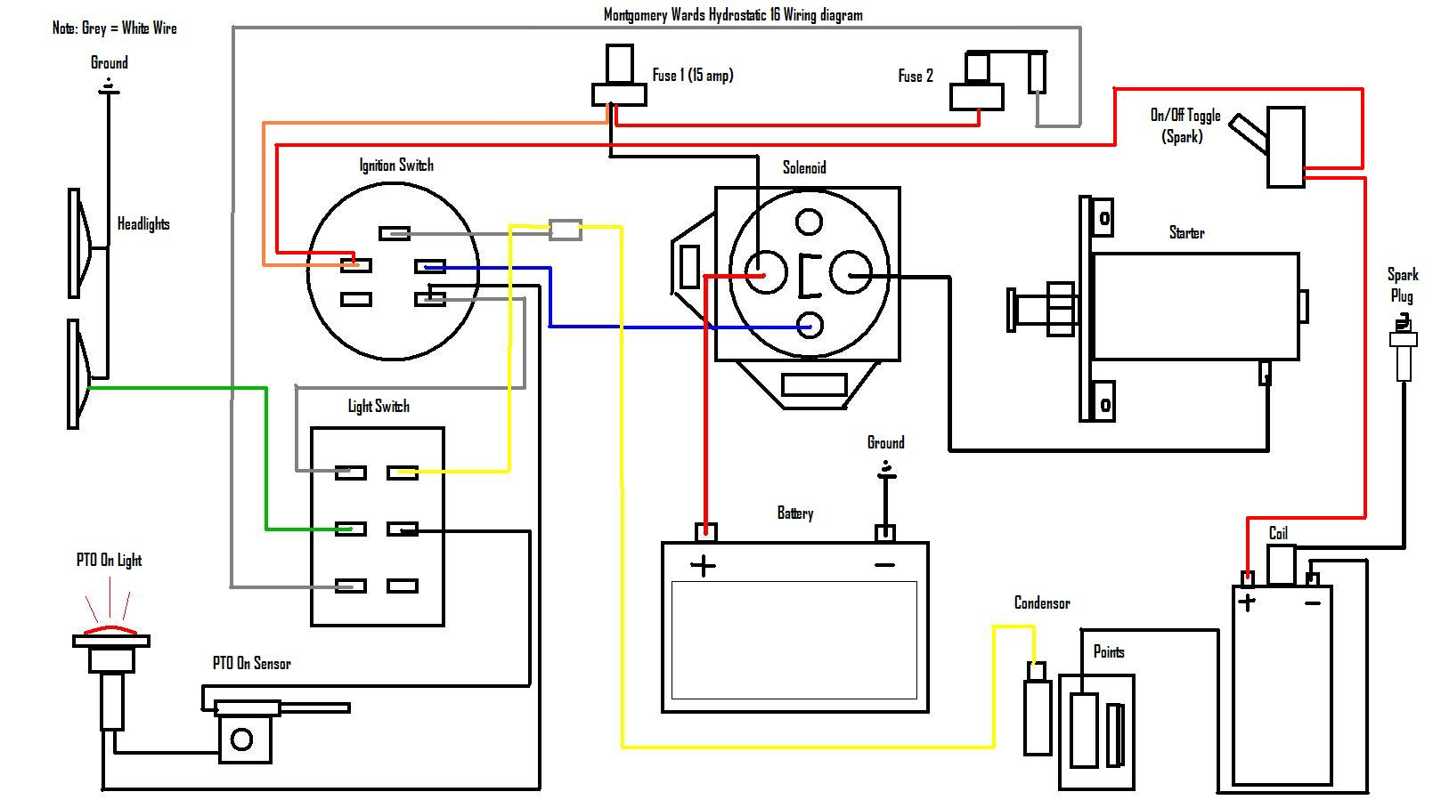 case lawn tractor wiring diagram vt 4888  john deere 2010 ignition switch wiring diagram new to me  john deere 2010 ignition switch wiring