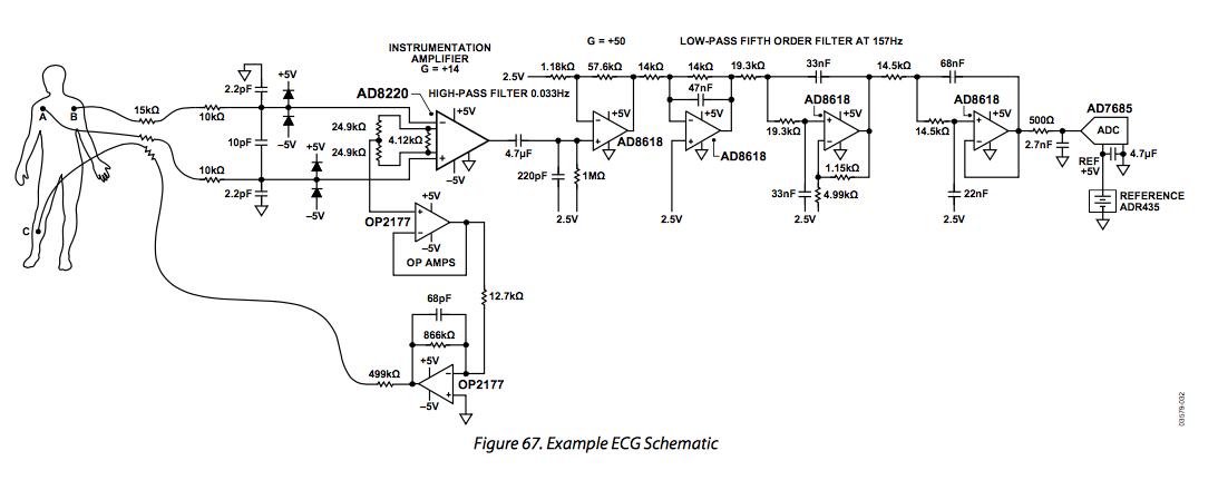 12 Lead Ecg Circuit Diagram