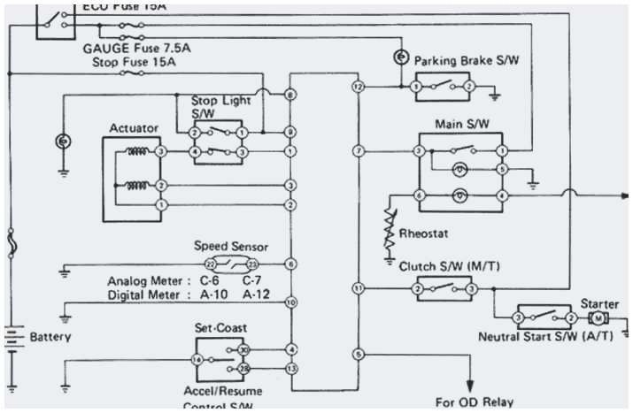 Wiring Diagram Daihatsu Charade