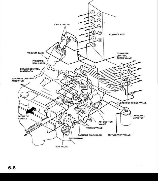 GS_1357] 1990 Acura Integra Vacuum Diagram Free Diagram