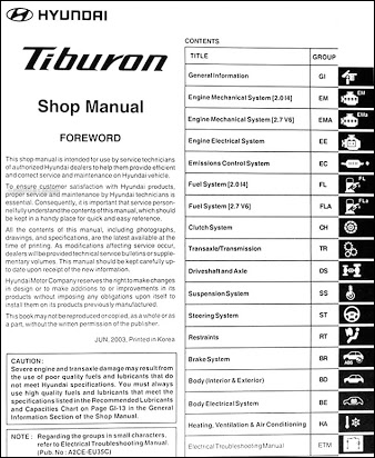 cl_6842] 2001 hyundai tiburon electrical troubleshooting manual original  atrix wigeg mohammedshrine librar wiring 101
