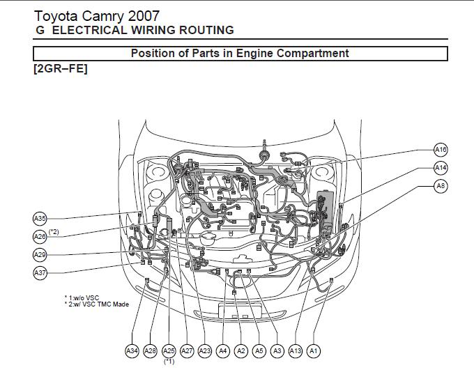 2007 Toyota Engine Diagram Wiring Diagram Way Usage B Way Usage B Agriturismoduemadonne It